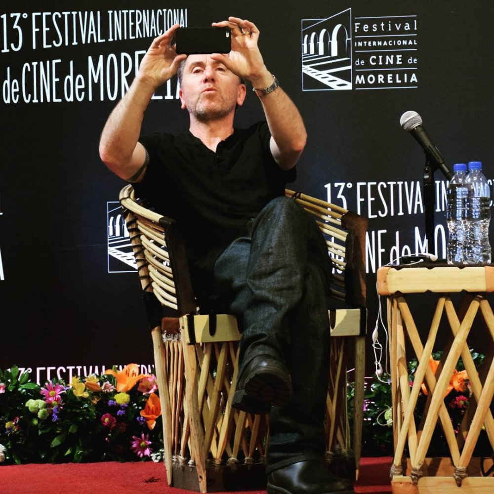 Tim Roth on stage at the 2015 Morelia International Film Fesival