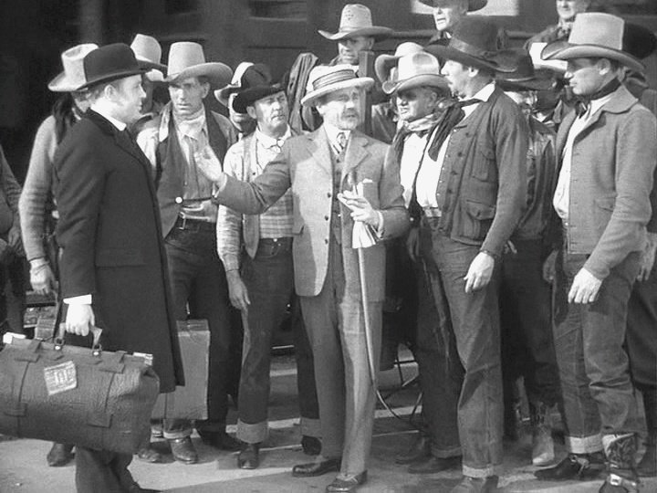 Charles Laughton (left) out west in Ruggles of Red Gap (1935)