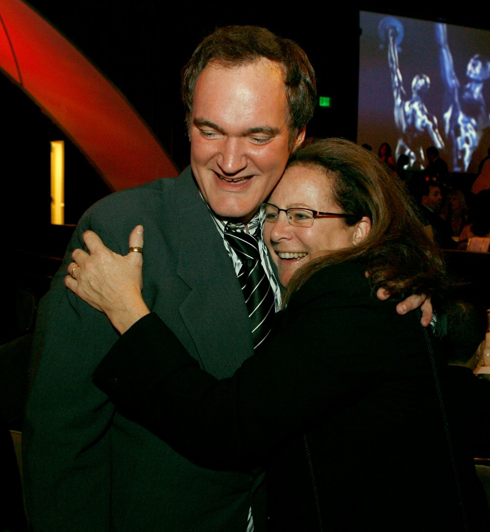 Sally Menke with Quentin Tarantino