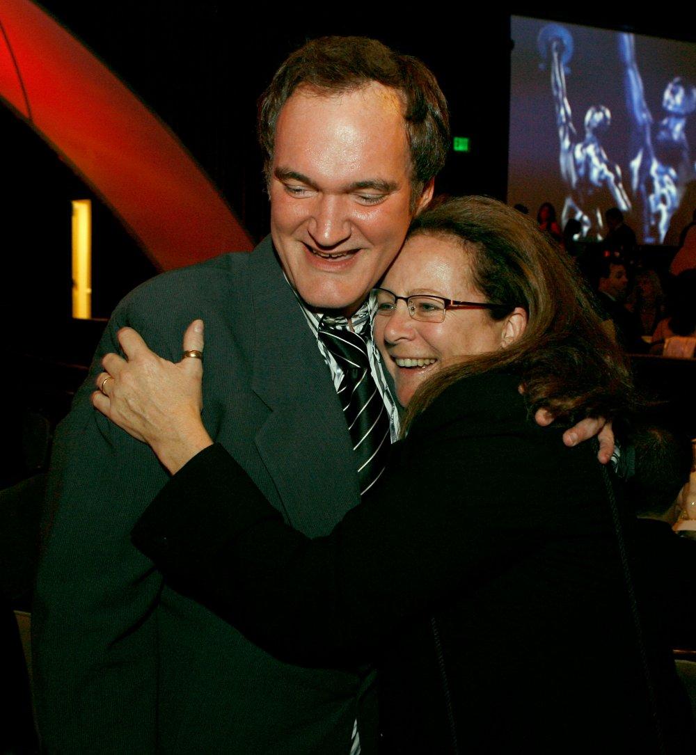 Sally Menke with Quentin Tarantino