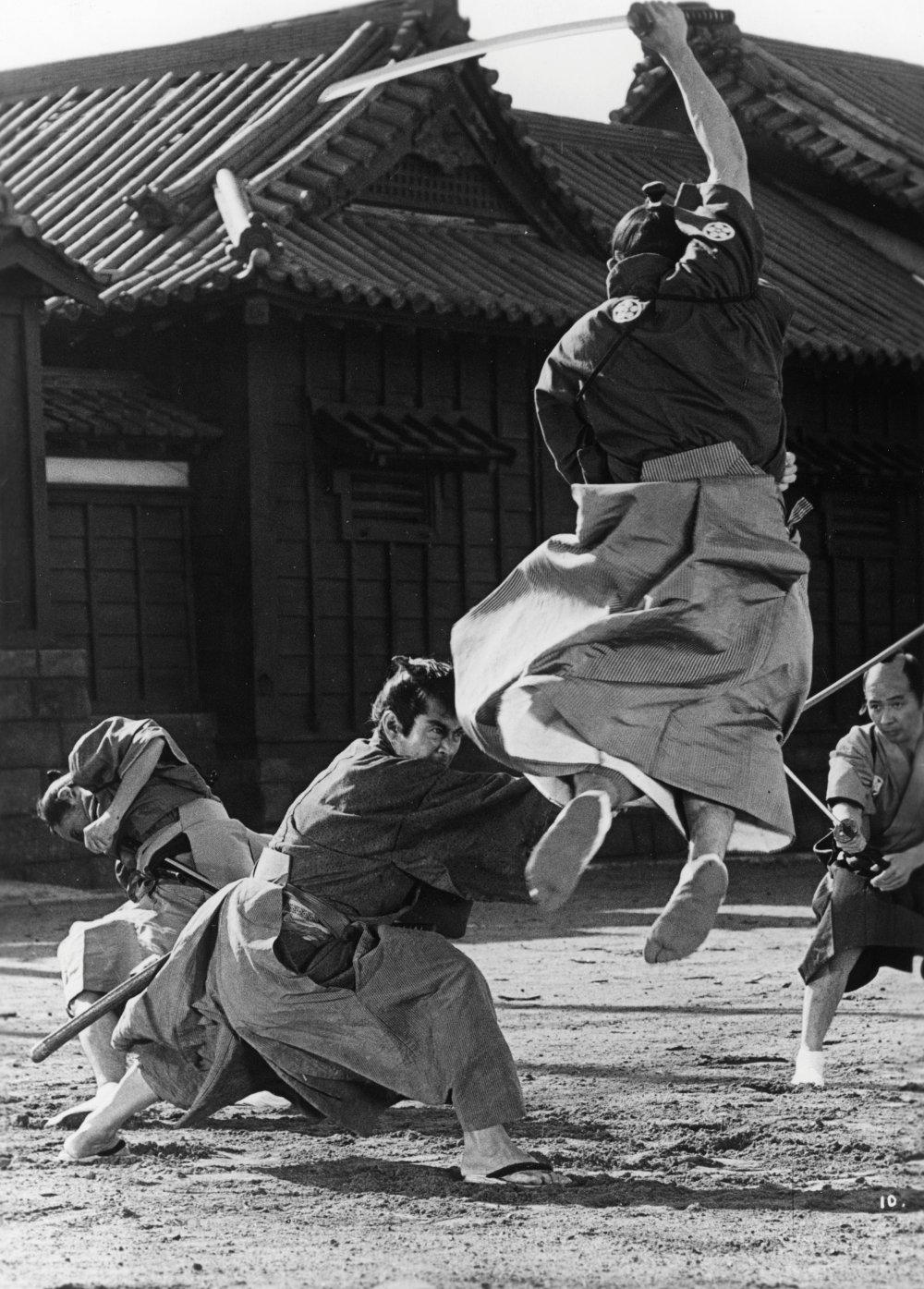 Asian samurai vs big black pipe