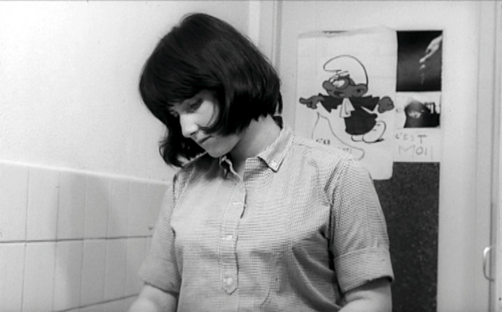 Chantal Akerman in Saute ma ville (1968)