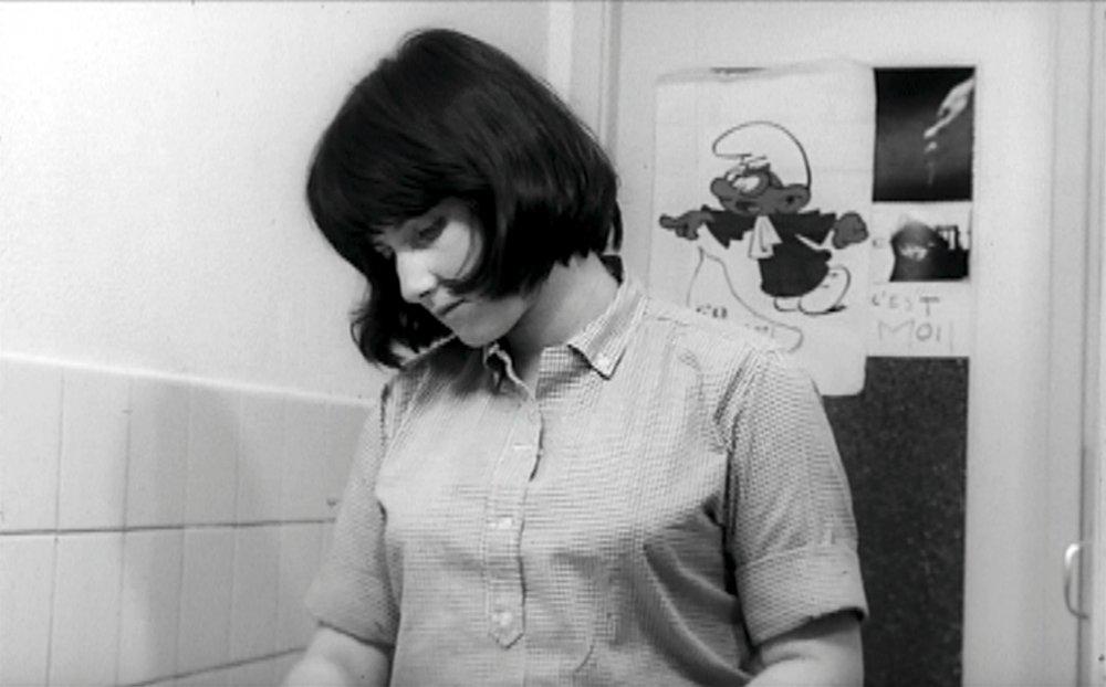 Chantal Akerman in Saute ma ville (1968)