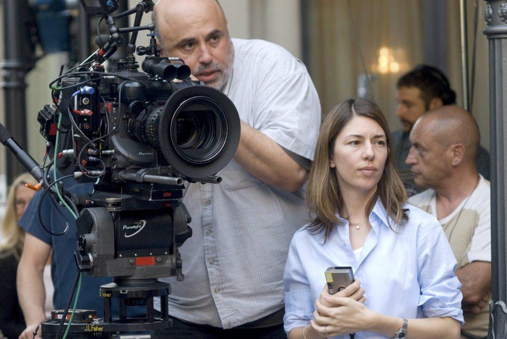 Harris Savides shooting Somewhere with Sophia Coppola