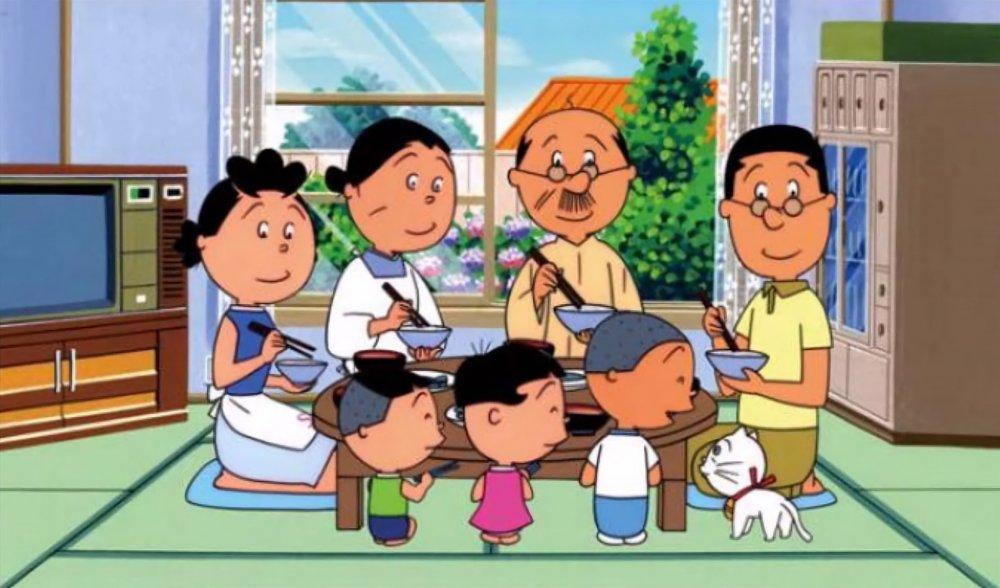 Sazae-San (1969–), the world's longest-running cartoon
