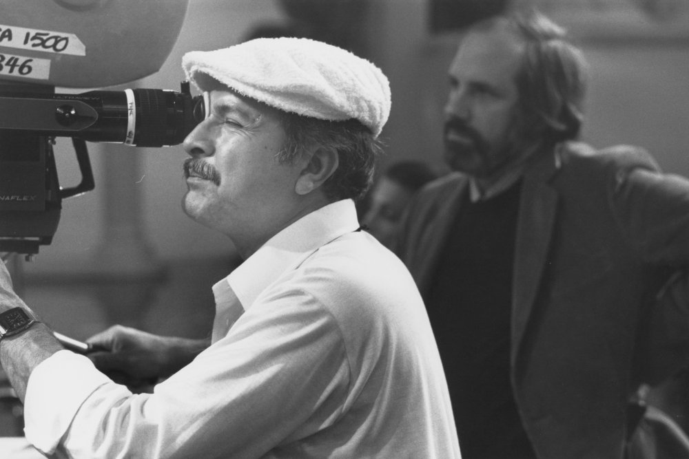 Cinematographer John A. Alonzo behind the camera. With Chinatown (1974), Scarface is perhaps Alonzo's most memorable work