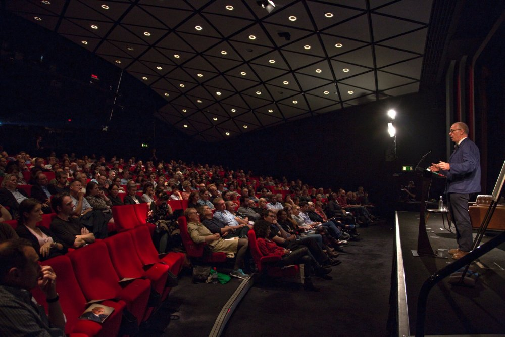 James Schamus at the BFI Southbank for a 2014 BAFTA Screenwriters' Lecture