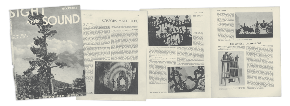 This feature was originally published in our Spring 1936 issue
