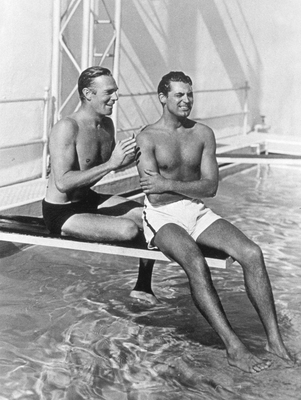 Randolph Scott and Cary Grant