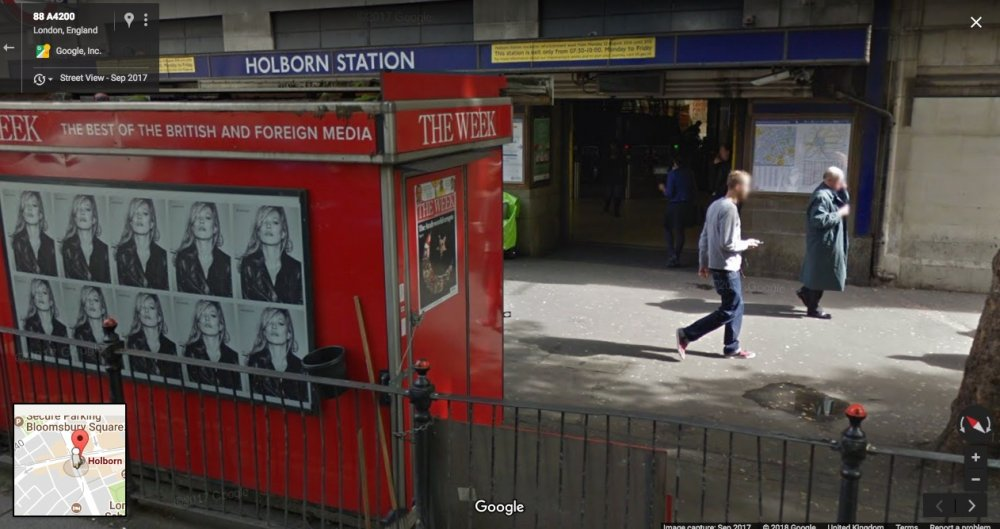 Secrets & Lies (1996) location today in Google Street View