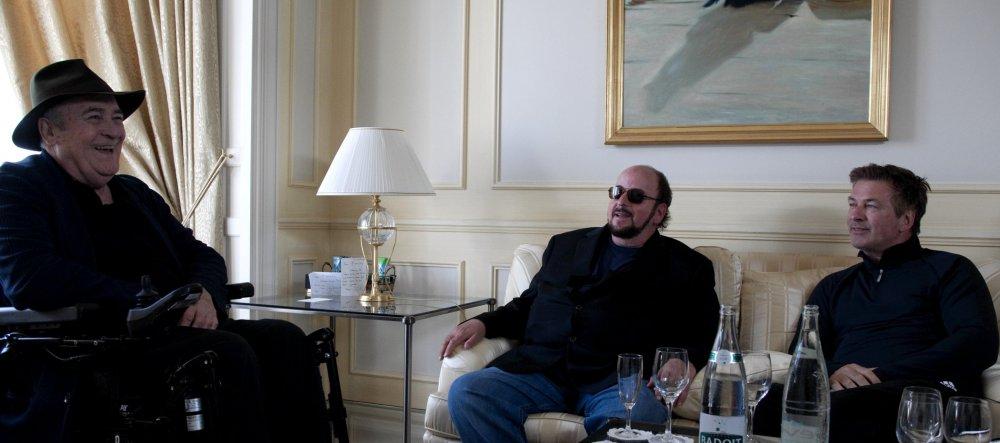 Bernardo Bertolucci, James Toback and Alex Baldwin in Seduced and Abandoned