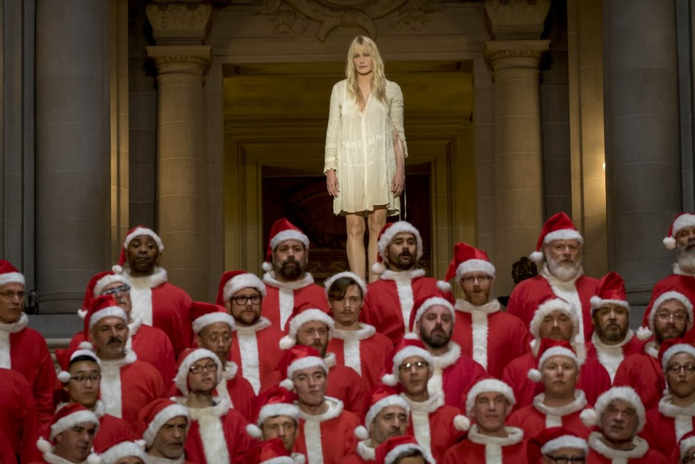 Daryl Hannah as Angelica, the begetter of the Sense8 cluster