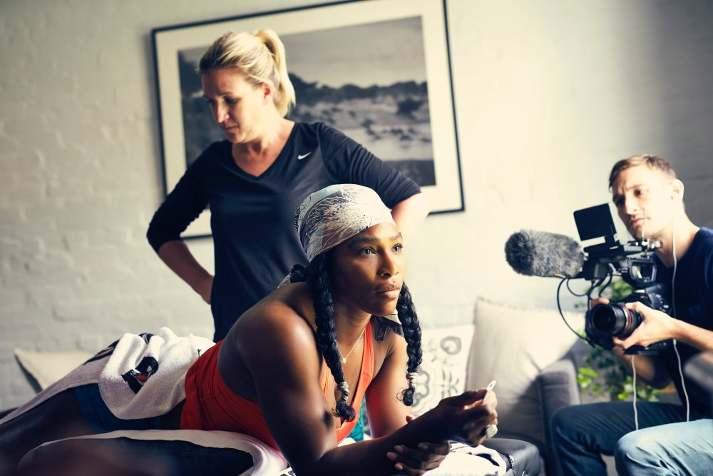 Serena: The Other Side of Greatness, given a big-screen premiere at Doc/Fest
