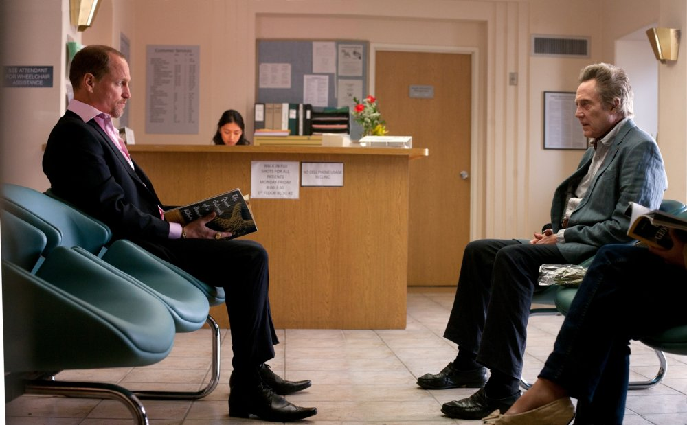 Charlie (Woody Harrelson) and Hans (Christopher Walken)