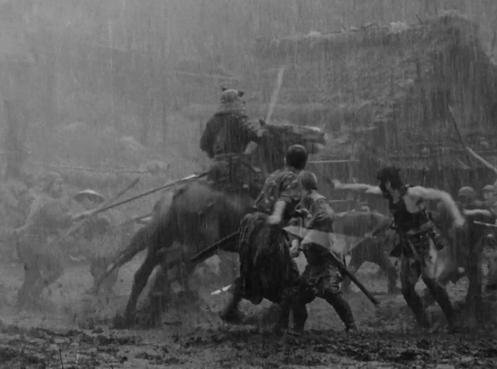 The driving rain brings a heightened tension to a final battle that is brutal, chaotic and very muddy