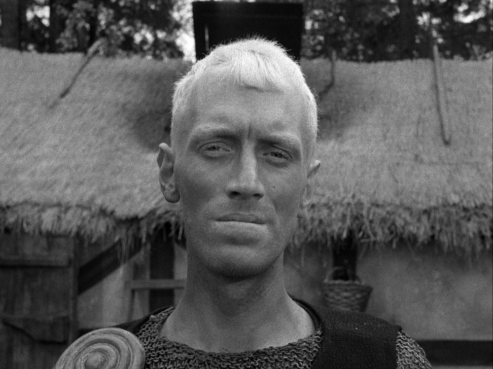 Max von Sydow in The Seventh Seal (1957)