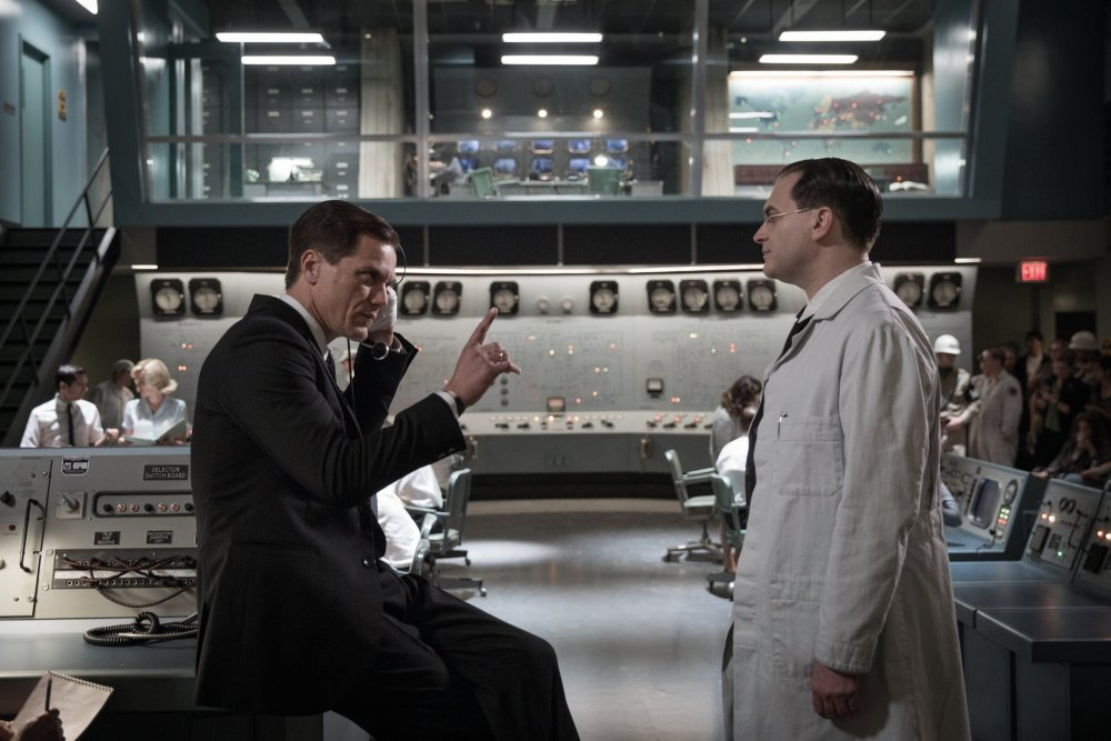 Michael Shannon as CIA agent Strickland