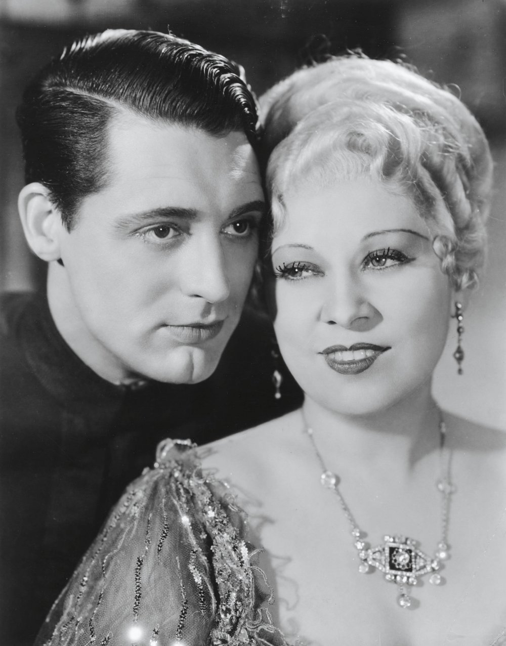 With Mae West in She Done Him Wrong (1933)