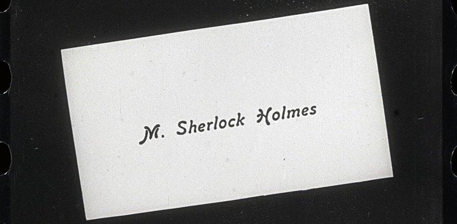 Sherlock Holmes (1916 film) Cinmathque Franaise discovers 1916 Sherlock Holmes film BFI