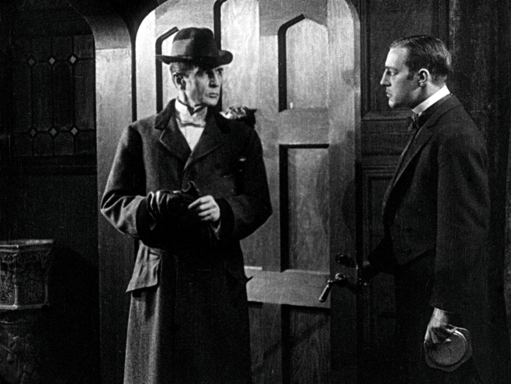 'A priceless record of a seminal performance': enter William Gillette as Sherlock Holmes