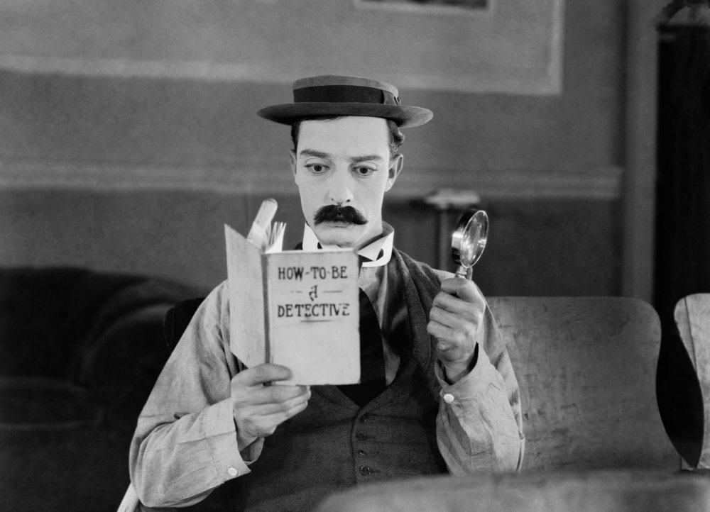 Sherlock Jr. (1924), currently streaming on BFI Player