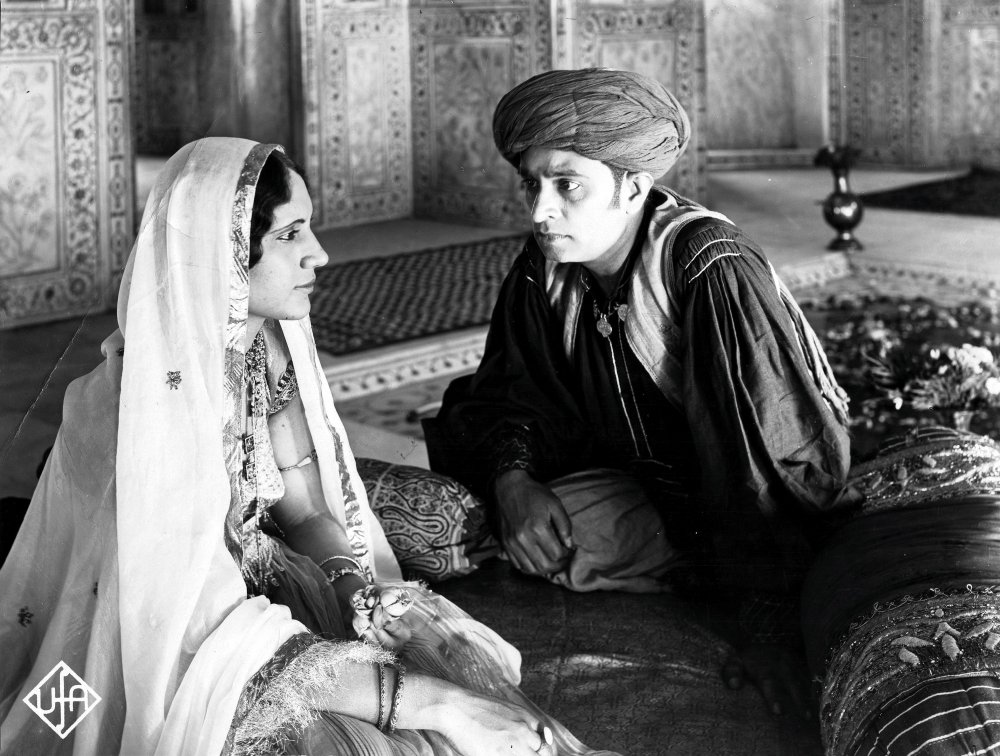 Rao with Himansu Rai as Shiraz