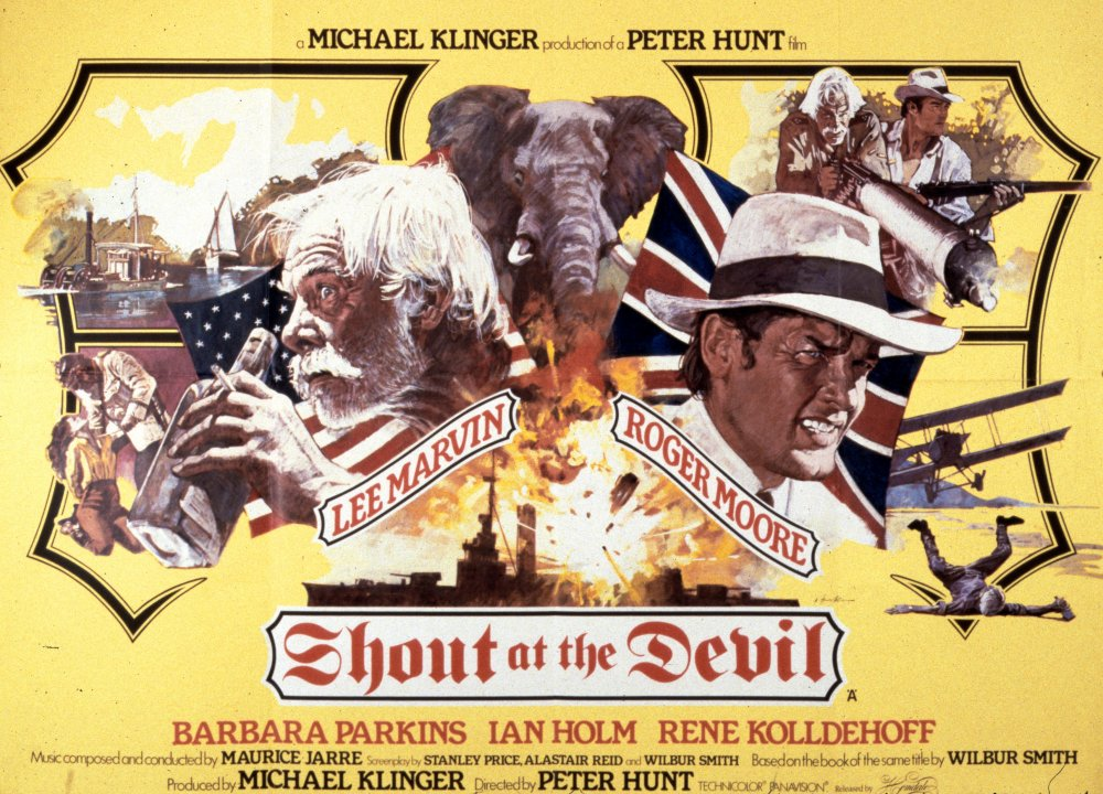 Shout at the Devil (1976) poster