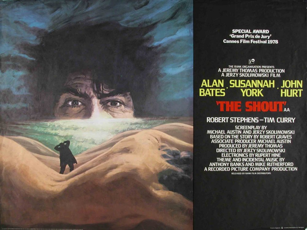The Shout (1978) poster