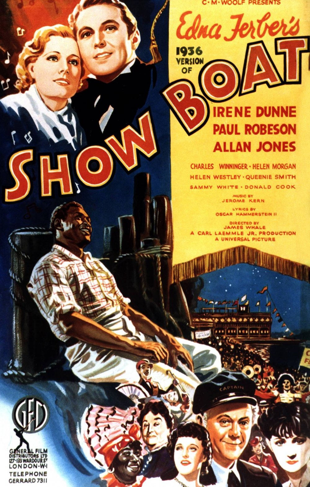 Show Boat (1936) film poster