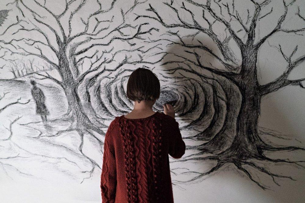 Julia Jedlikowska as Luna in Sicilian Ghost Story