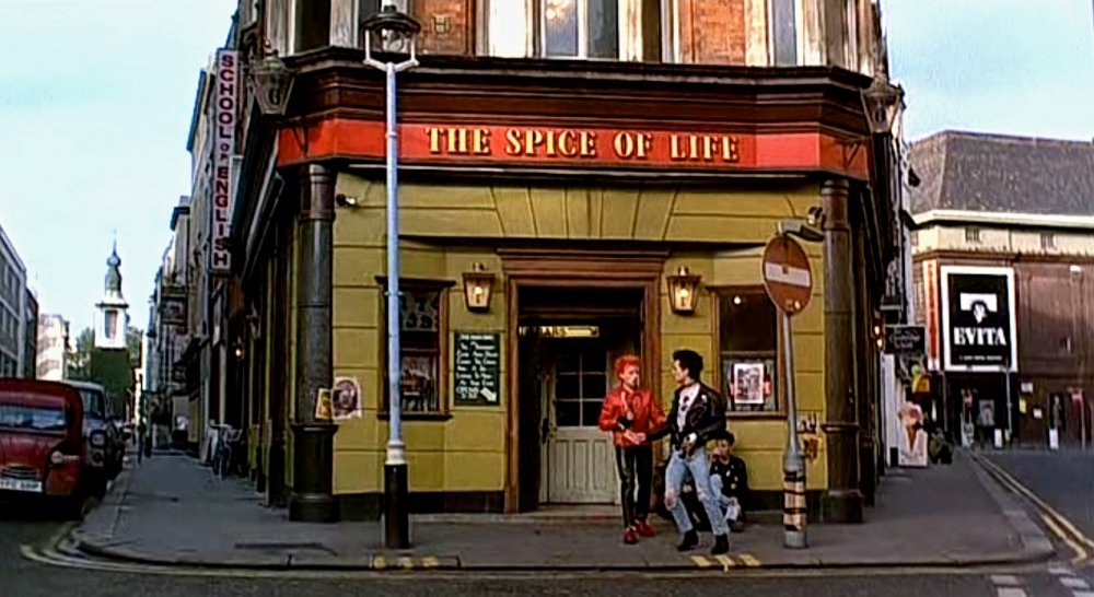 Soho's The Spice of Life pub as seen in Sid and Nancy