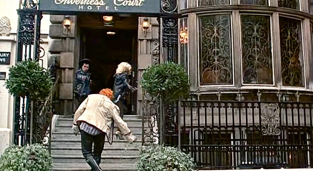 The Inverness Court Hotel seen in Sid and Nancy