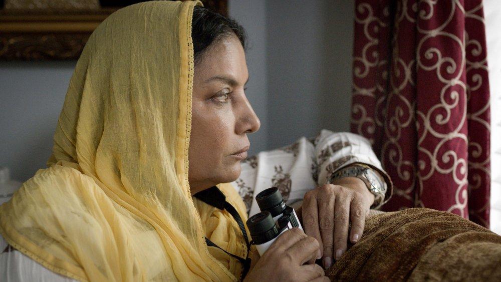 Shabana Azmi as Zaynab's widowed mother Parveen
