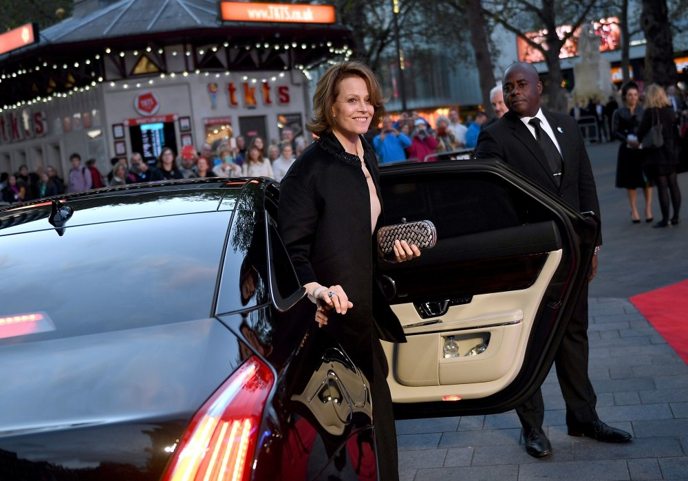 Sigourney Weaver attends the May Fair Hotel Gala screening of A Monster Calls at Odeon Leicester Square