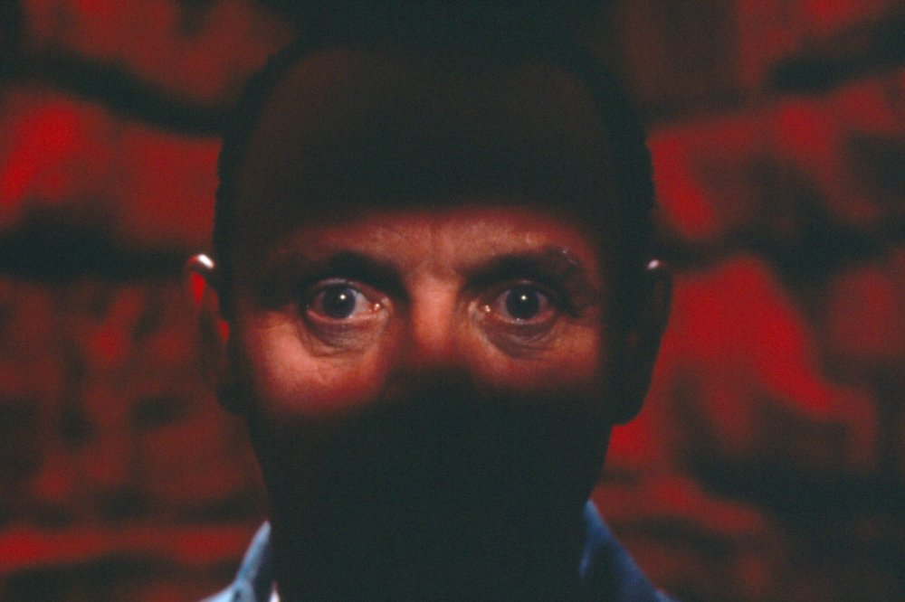 Anthony Hopkins as Dr. Hannibal Lecter in The Silence of the Lambs