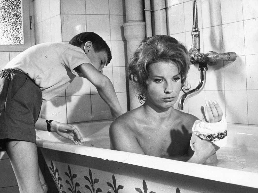 Gunnel Lindblom in The Silence (1963)