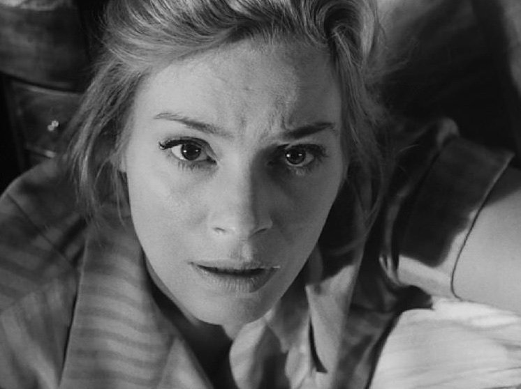 Ingrid Thulin in The Silence (1963)