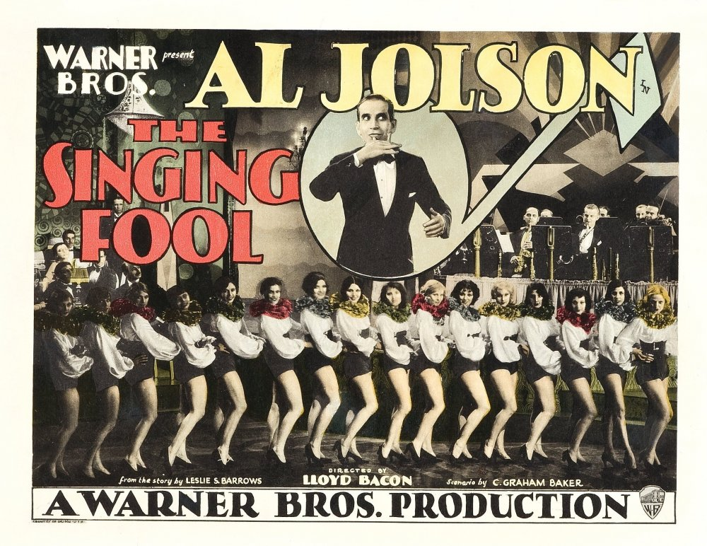 The Singing Fool (1928) film poster