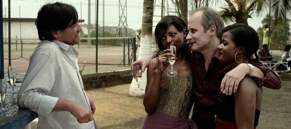 Pierre Bokma as Ebbo Velten and Hippolyte Girardot as Gaspard Signac in Sleeping Sickness (2011)