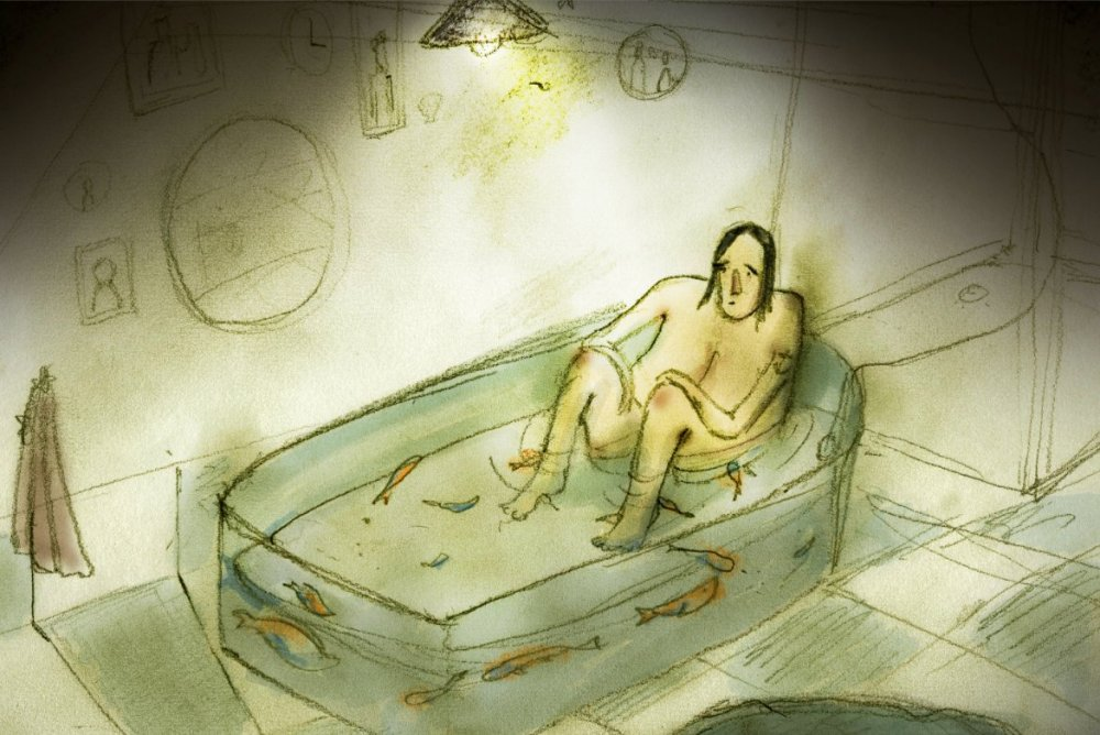 Yousif Al-Khalifa's Sleeping with the Fishes