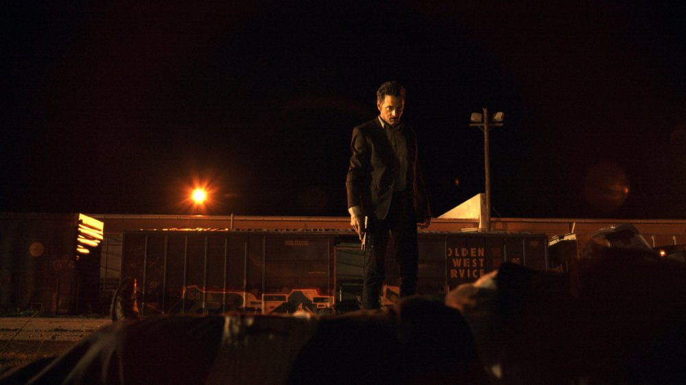 John Hawkes in Small Town Crime