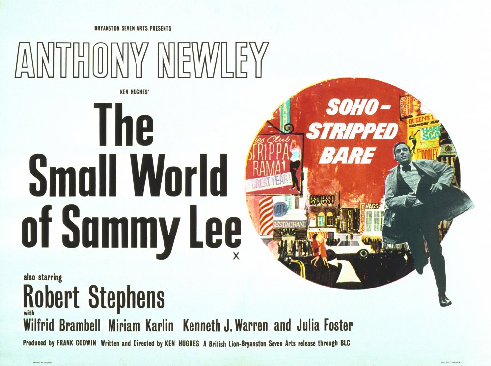 The Small World of Sammy Lee: Anthony Newley and a long-gone Soho ...