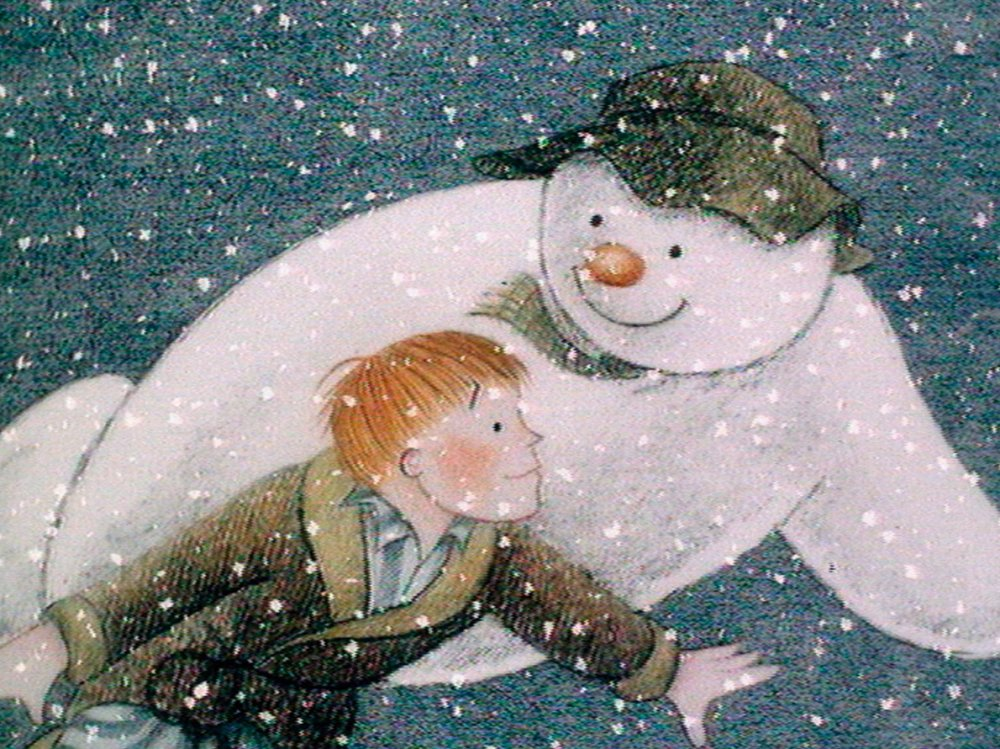 10 SNOWMAN AND THE SNOWDOG RAYMOND BRIGGS INSPIRED CHRISTMAS SCARFS
