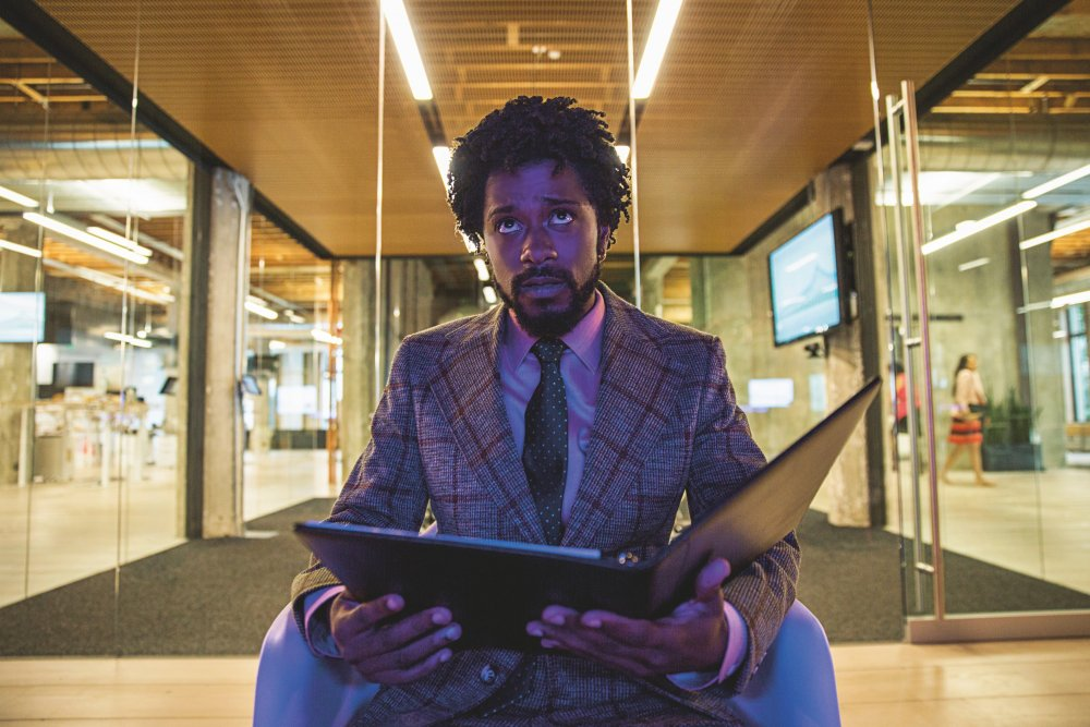 Lakeith Stanfield as Cassius Green in Sorry to Bother You