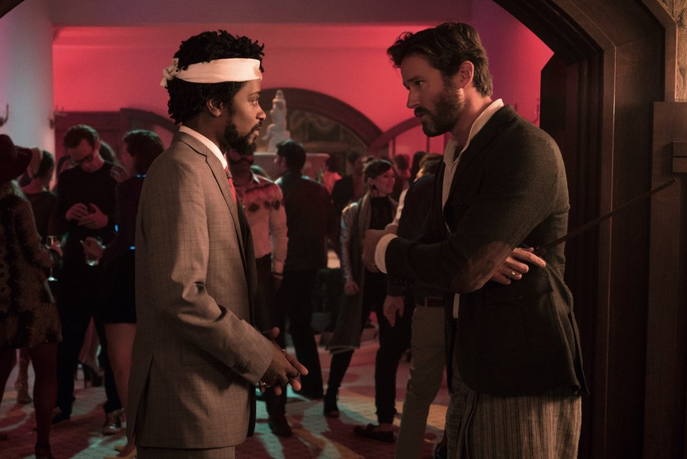 Stanfield with Armie Hammer as Steve Lift