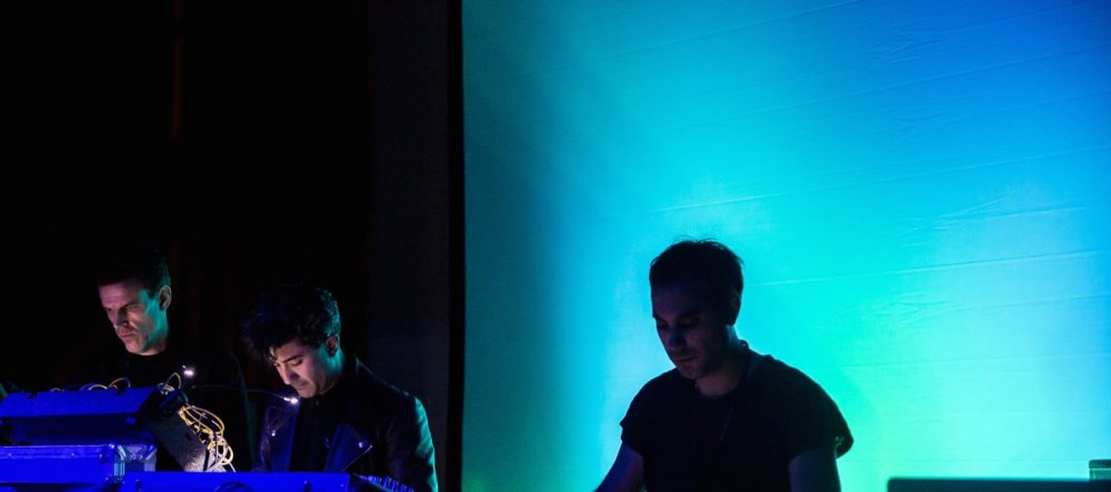 Soundwalk Collective performing at the Club 2 Club Festival, Torino in 2015