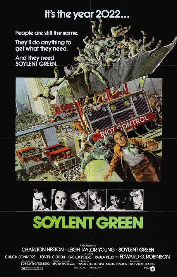 Soylent Green (1973) poster