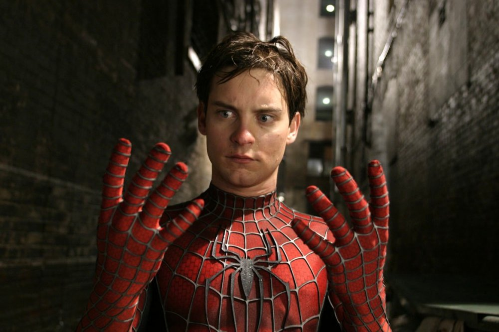Pre-mechanised emissions: Tobey Maguire as a more organic Spider-Man (2002)