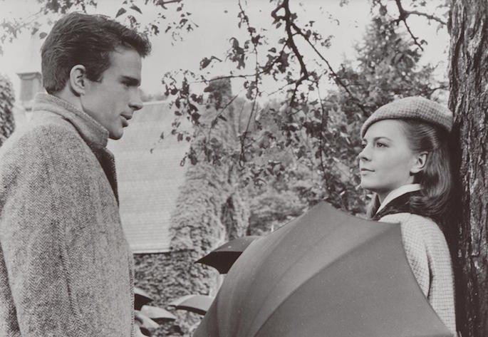 Warren Beatty and Natalie Wood in Splendor in the Grass (1961)