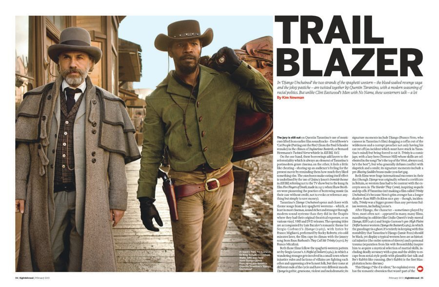 The issue of slavery in the movies lincoln and django unchained